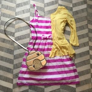 Lilly Pulitzer Purple Pink Stripe Dress 6